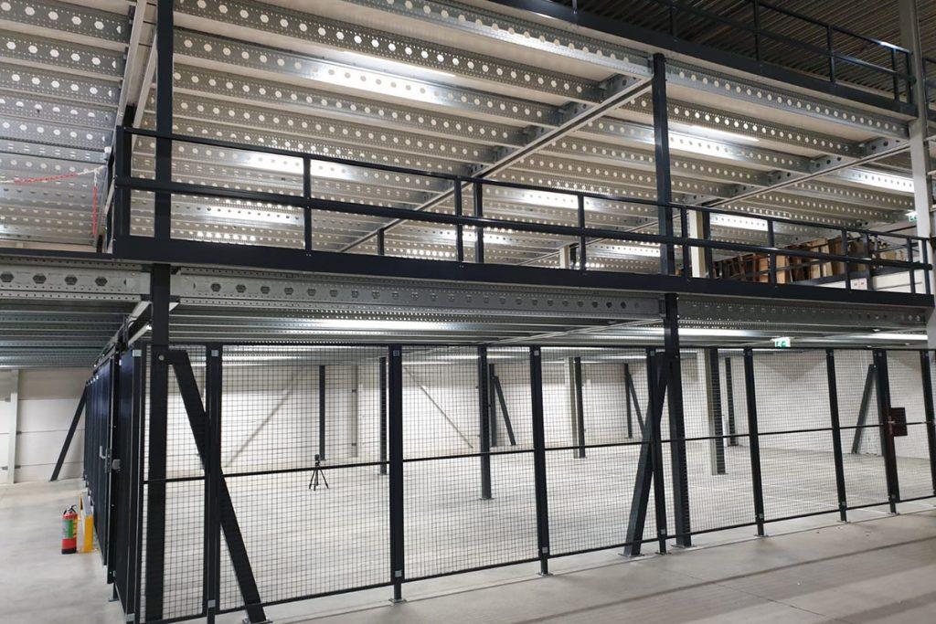 Dubbele verdiepingsvloer magazijn 04