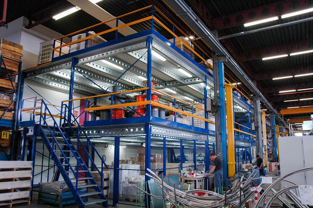 Dubbele verdiepingsvloer productieruimte 03